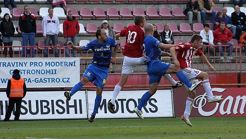 Fotbalisté Liberce zvítězili na půdě Viktorie Žižkov jednoznačně 4:1