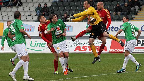 Fotbalisté Jablonce ztratili další body, tentokrát byla nad jejich síly pražská Dukla