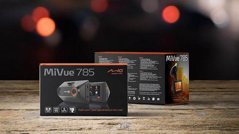 Nová kamera do auta Mio MiVue 785 automaticky a kvalitně zaznamená nehodu