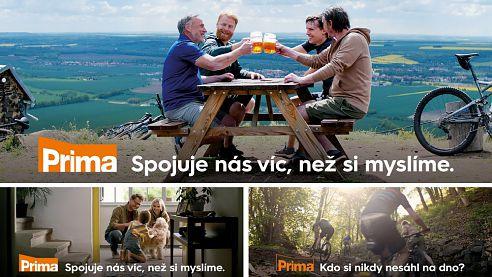 Skupina Prima spouští doposud největší image kampaň na podporu svého hlavního televizního kanálu a značky Prima