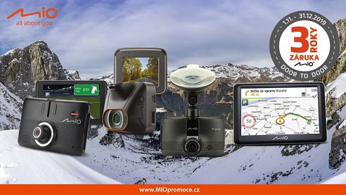 Tři roky záruky a VIP servis: MIO autokamery a navigace patří mezi TOP produkty
