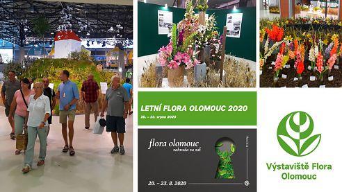 Letní Flora Olomouc je tady! Za přísných hygienických opatření bude letos jedinou květinovou výstavou tohoto rozsahu vČR