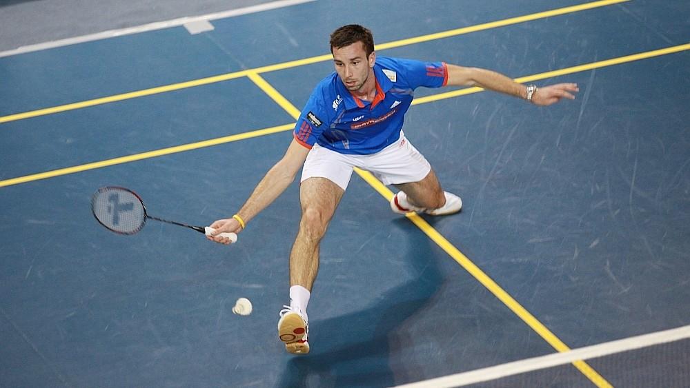 Náš nejlepší badmintonista Petr Koukal