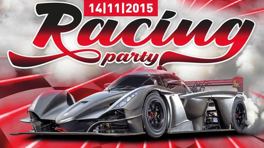 Desátý ročník nejnadupanější zimní motoristické akce Racing Party se blíží