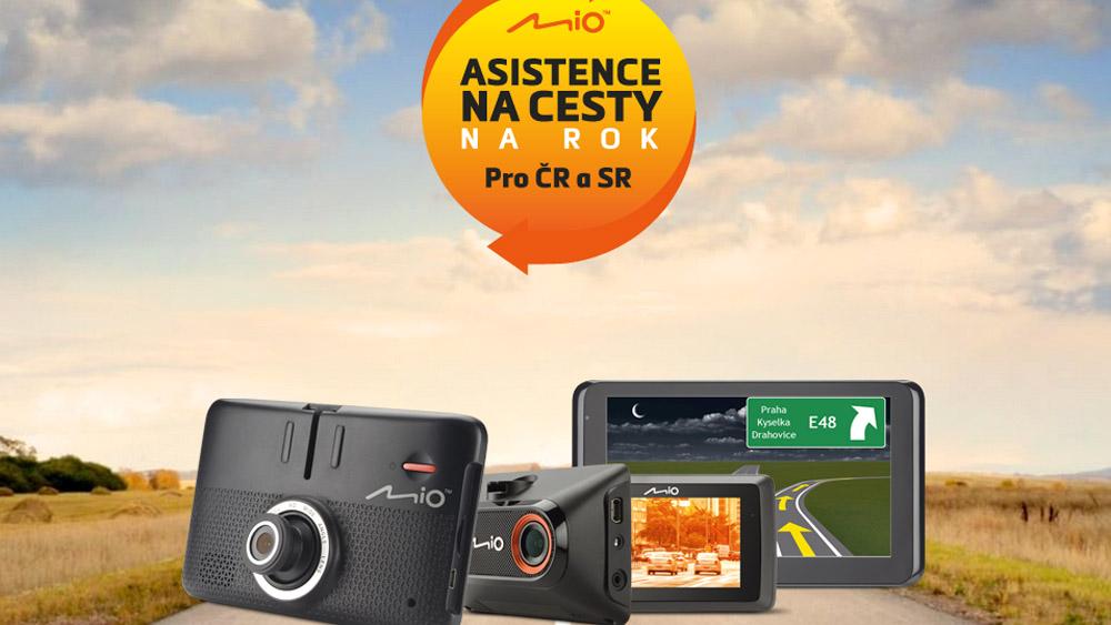 Mio Asistence na cesty pro majitele nových autokamer a navigací značky Mio