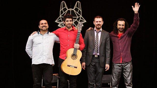 Salao & Jaco Abel Flamenco Electronico (Španělsko) se loučí s nadšeným publikem, Zdroj: Tomáš Miřička