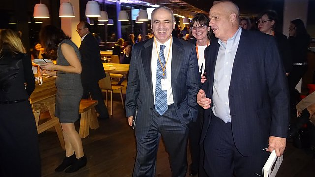 Garri Kasparov v Praze