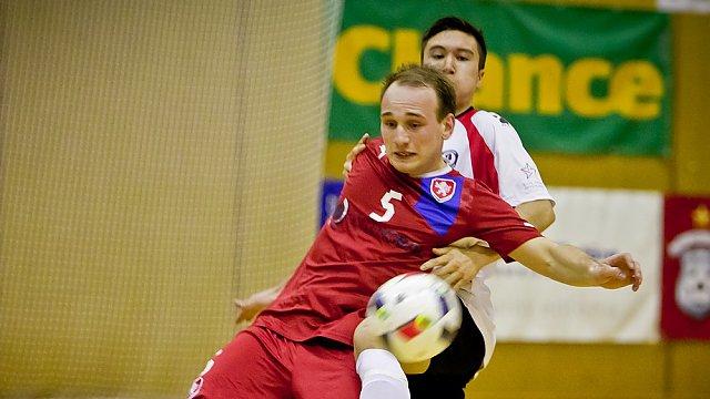 Futsal, ČR vs. Grónsko