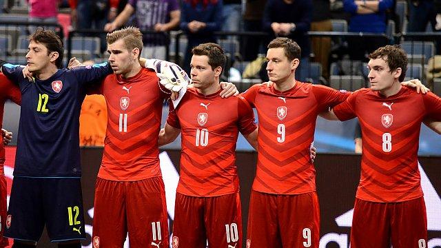 ČR vs. Itálie, EURO 2016, český tým před zápasem