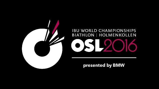 Biatlon, MS, Oslo, logo