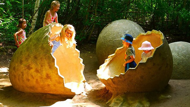 Děti v DinoParku