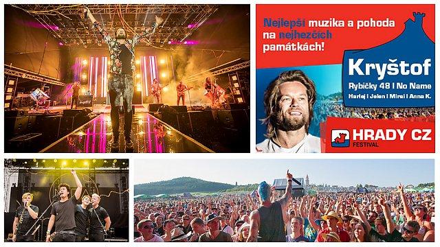 Hudební festival Hrady CZ putuje na Moravu jako Moravské hrady.CZ, představí se na Veveří