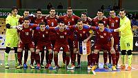 Vstupenky na barážové futsalové utkání sBěloruskem jsou vprodeji