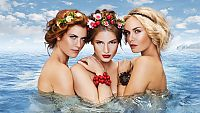 Nová kampaň Dermacolu? V roli vodních bohyní se objevují tři české krásky