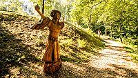 Sochy slovanských bohů v ZOO Ostrava jsou připomínkou zakládání osad a vesnic poblíž vodních toků